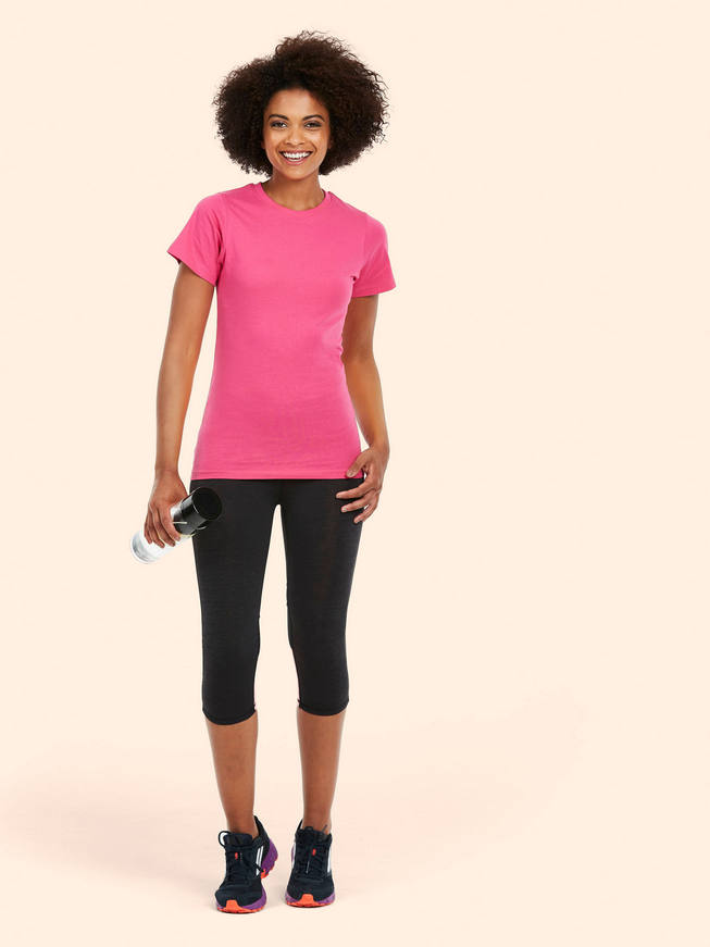 Lady-Fit Classic Crew Neck T-Shirt