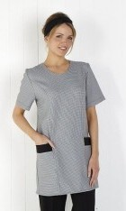 Longline Scoop Neck Tunic with Pockets