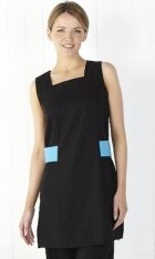Sleeveless Longline Beauty Tunic with Contrasting Mock Belt
