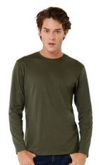 BA211 Long Sleeve Cotton T-Shirt