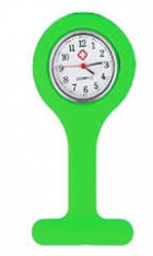 Silicone Fob Watch Lime Green