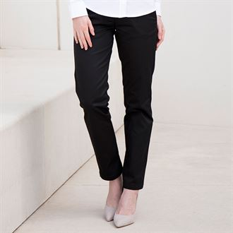 Slim Fit Tapered Leg Trousers